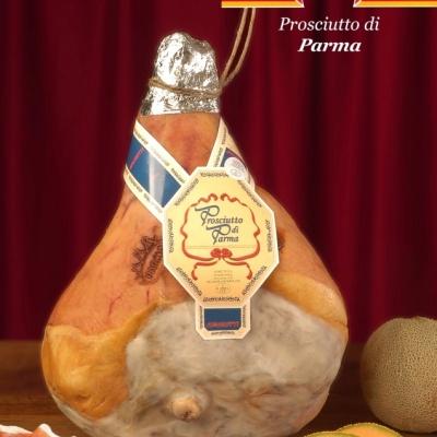 Prosciutto Parma con osso