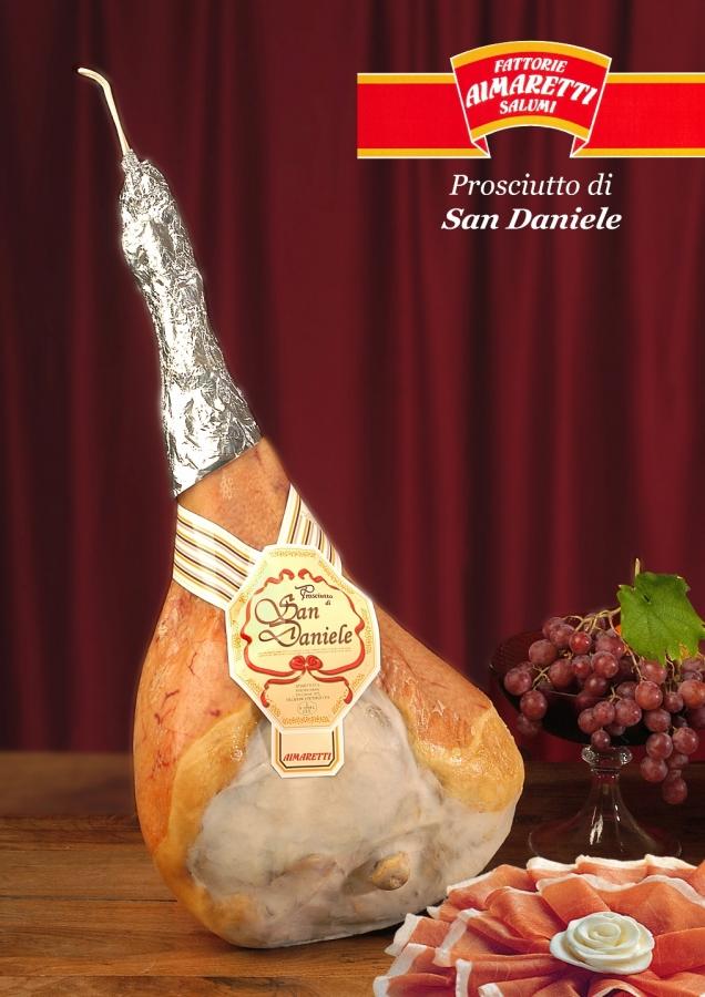 Prosciutto San Daniele con osso